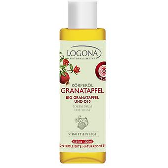 Logona Firming Body Oil Pomegranate Q10 100 ml (Cosmetics , Body  , Body oils)