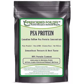 Pea Protein - Natural Non-GMO Canadian Yellow Pea Protein Concentrate Powder - 80% Protein
