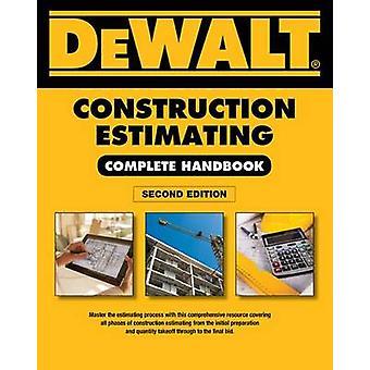 Dewalt Construction Estimating Complete Handbook - Excel Estimating In