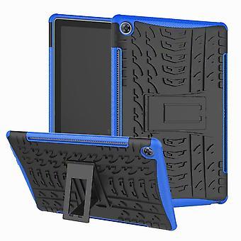 Für Samsung Galaxy Tab A 10.1 T510 / T515 2019 Hybrid Outdoor Schutzhülle Case Blau Tasche Cover Etuis