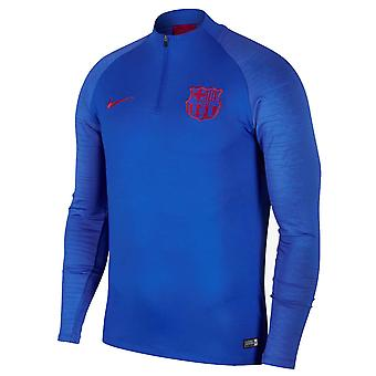 2019-2020 Barcelona Nike Drill Training Top (Blue)