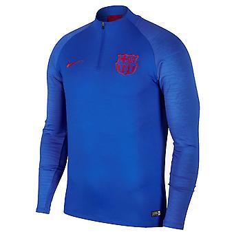 2019-2020 Barcelona Nike borr träning Top (blå)