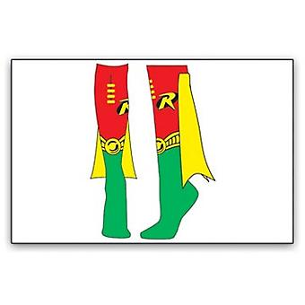 Knee High Cape Sock - DC Comics - New Robin Heroes 81121dco