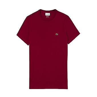 Lacoste Crew T-paita Bordeaux
