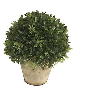 Wellindal Flower Ball Boxwood H19 D15 (Decoration , Plants and pots)