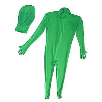 BRESSER BR-C2L deux pièces Chromakey costume vert Taille: L