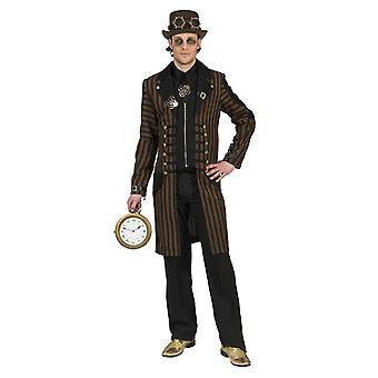 Costume Inventore uomo di Steampunk Noble Explorer