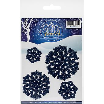 Find It Trading Precious Marieke Winter Wonderland Die-Snowflakes PM10051