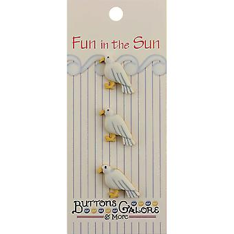 Fun In The Sun Buttons Seagull Fn 127