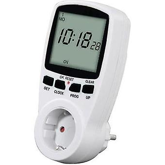 Timer/power strip digital 7 day mode Hama 00108838 3500 W IP20