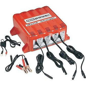 Automatic charger Profi Power Chargeur 4x 4A 12V World Charger 12 V 4 A
