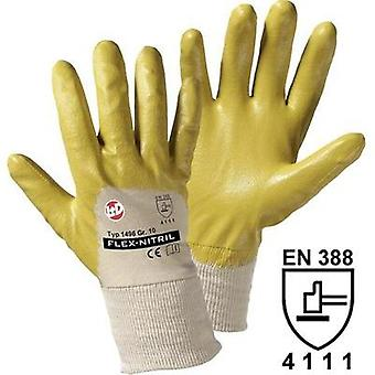 worky 1496 Flex nitrile gloves Nitrile rubber with cotton tricot Size 8