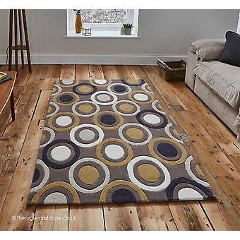 Bubbles Brown Rug