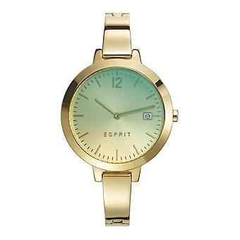 ESPRIT ladies watch bracelet watch Amelia stainless steel gold ES107242008