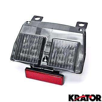Smoke LED Tail Light Integrated with Turn Signals For 1994-2003 Ducati 916