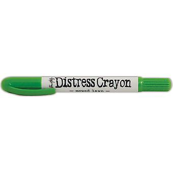 Tim Holtz Distress Crayons-Mowed Lawn TDB-51954