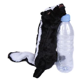 Bottle Fill Wild Animal Squeaky Dog Toy Skunk 46cm (18