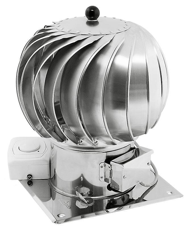 Acier inoxydable Ventilation hybride cheminée capot moteur électrique 150mm 200mm