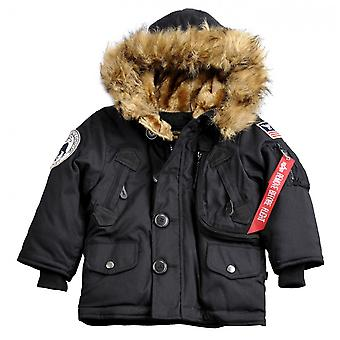 Alpha industries veste veste polaire enfants