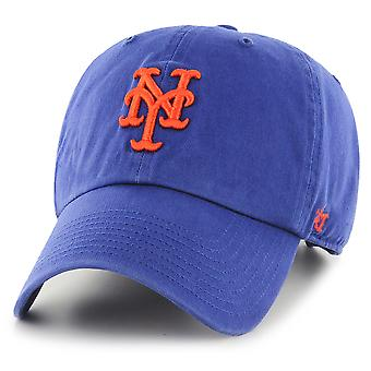 47 Brand MLB New York Mets Clean Up Cap - Royal Blue