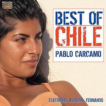 Pablo Carcamo - importación de Estados Unidos mejores de Chile [CD]
