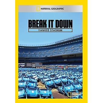Break It Down: Yankee Stadium [DVD] USA importieren