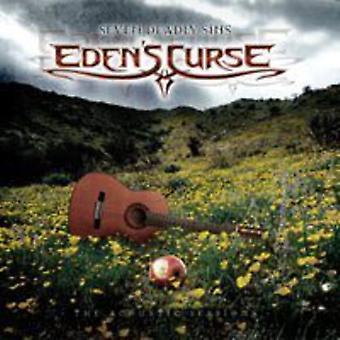 Edens forbandelse - 7 dødssynder-den akustiske sessioner [CD] USA importerer
