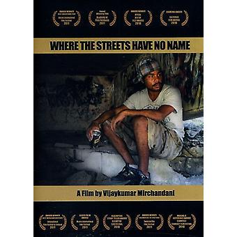 Hvor Streets Have No Name [DVD] USA importerer