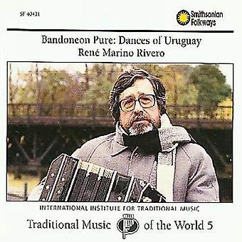 Rene Marino Rivero - Bandoneon Pure: Dances of Uruguay [CD] USA import