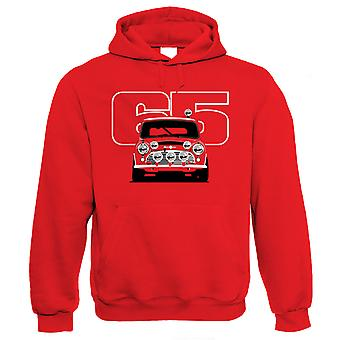 Vectorbomb, Cooper S 65, Rally Car Hoodie