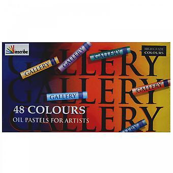 Indskrives olie pasteller 48 farver