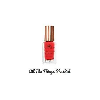 Barry M Barry M Sunset Nail Paint All The Things She Red