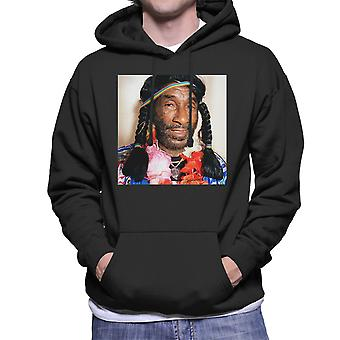 Lee Scratch Perry Braids Men's Hooded Sweatshirt