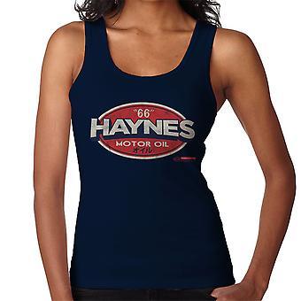 Haynes 66 Motor olja Gulf logotyp kvinnor Vest