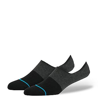 stance spectrum super invisible black socks