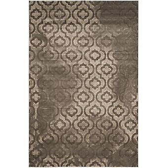 Woven Rug short-pile carpet living room Pacific Evergreen brown beige 124 x 183 cm