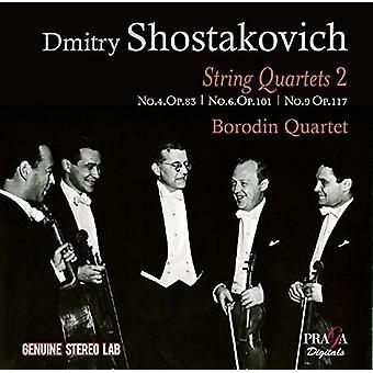 Sjostakovitj / Borodin kvartet - strygekvartetter 2 [CD] USA import