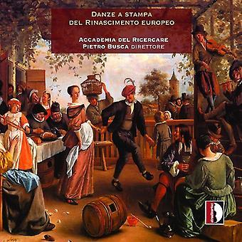Gervaise / Accademia Del Ricercare / importación de Busca - Danza un E.e.u.u. Stampa Del Rinascimento Europeo [CD]