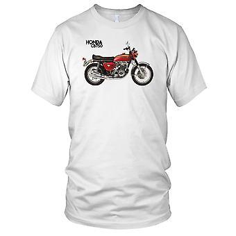 Honda CB750 Classic Motorbike Biker Mens T Shirt