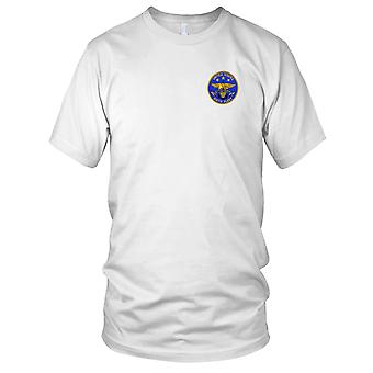 US Navy United States Sixth Fleet Embroidered Patch - Mens T Shirt