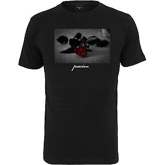 Mister tee shirt - PASSION steg sort