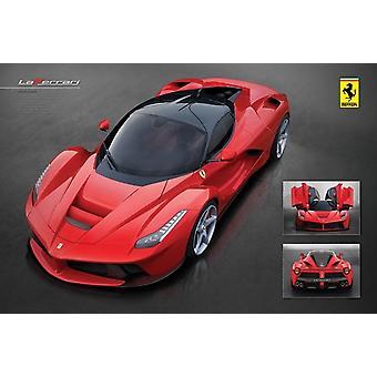 Ferrari - LaFerrari Poster Poster Print