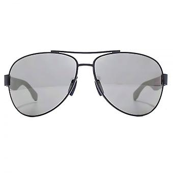 Hugo Boss Active Pilot Sunglasses In Matte Blue Grey