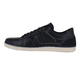 Red Tape Cumber Mens Lace Up Smart Casual lederen Sneakers schoenen