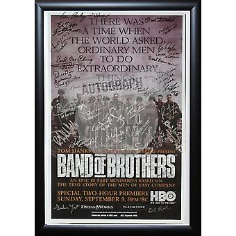 Band of Brothers - Signed TV Show Poster