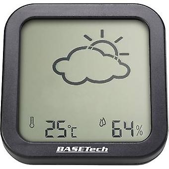 Thermo-hygrometer Basetech Anthracite