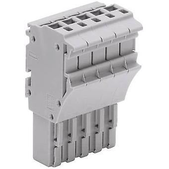 WAGO 2022-115 1 Conductor Female Multipoint Connector Series 2022 0.25 - 2.5 mm² Grey