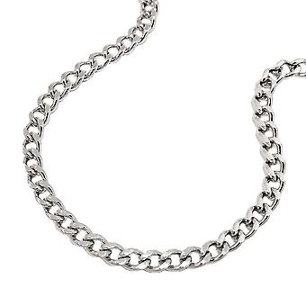 Curb chain stainless steel necklace