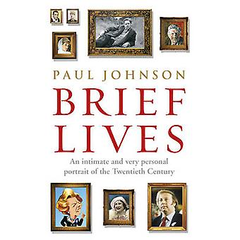 Brief Lives by Paul Johnson