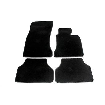 Fully Tailored Luxury Car Mats - BMW 5 Series Touring 2004-2010 Black